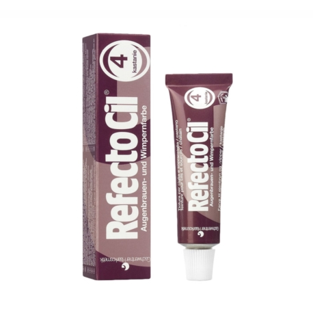 Refectocil henna do brwi i rzęs 4 kasztan, 15 ml
