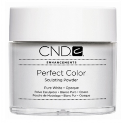 CND Perfect Color Pure White Puder akrylowy biały 22 g