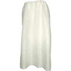 Pareo białe z gumką 10 szt.