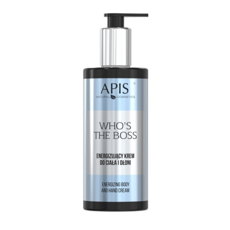 Apis Who's the Boss Energizujący krem do ciała i dłoni 300 ml