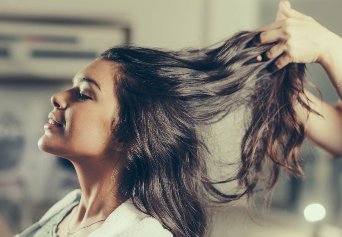 Dbanie  o włosy falowane
